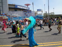 The 2013 Coney Island Mermaid Parade 224 Stock Images