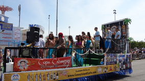 The 2013 Coney Island Mermaid Parade 238 Stock Photo