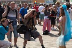Coney Island Mermaid Parade Royalty Free Stock Image