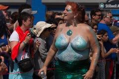 Coney Island Mermaid Parade Royalty Free Stock Photos