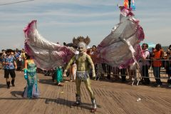 Coney Island Mermaid Parade Stock Photography
