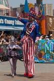 Coney Island Mermaid Parade. Unidentified participants of the 29th annual Coney Island Mermaid Parade on June 22, 2013 at Coney Island, Brooklyn, NY, USA royalty free stock photo