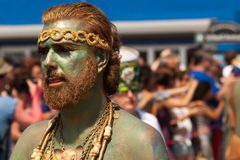 Coney Island Mermaid Parade Royalty Free Stock Photography