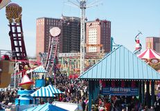Coney Island,New York Royalty Free Stock Images