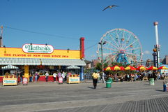 Coney Island in New York City Royalty Free Stock Photo