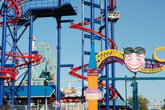 Coney Island in New York City Stock Image