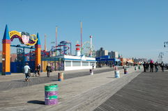 Coney Island in New York City Royalty Free Stock Photos