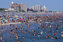 Coney Island - New York City Arkivfoto