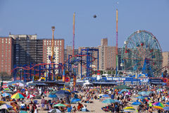 Coney Island - New York City stock image