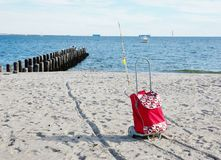 Coney island new york fishing season Stock Image