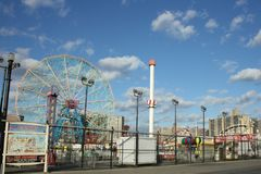 Coney Island NY Photo libre de droits
