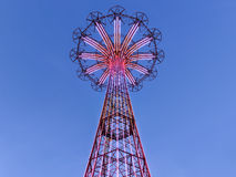 Coney Island Parachute Jump Royalty Free Stock Images