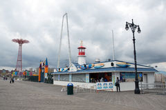 Coney Island park Royalty Free Stock Images