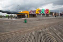 Coney Island park Stock Photos