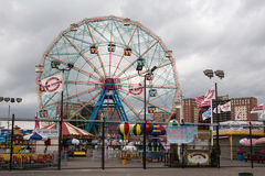 Coney Island park Royalty Free Stock Photos