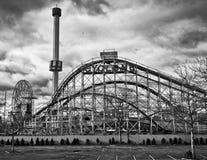 Coney Island park rozrywki Zdjęcie Stock
