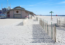 Coney Island plaża, Brooklyn, Miasto Nowy Jork Fotografia Stock
