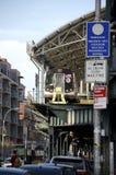 Coney Island pociąg zdjęcie stock
