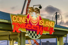 Coney Island Raceway Royalty Free Stock Images