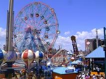 Coney Island-Rad Lizenzfreie Stockbilder