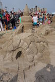 The 2014 Coney Island Sand Sculpting Contest 50 Stock Images