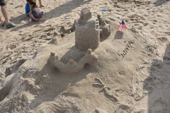 The 2014 Coney Island Sand Sculpting Contest 52 Stock Photography