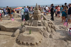 The 2014 Coney Island Sand Sculpting Contest 95 Stock Photography