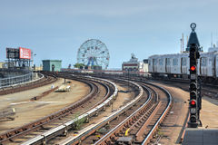 Coney Island, sottopassaggio, Brooklyn, New York Fotografie Stock