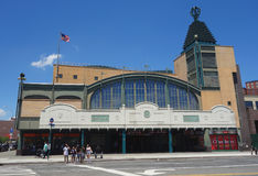 Coney Island - Stillwell Avenue subway station in Coney Island Stock Images