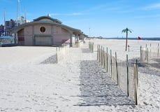 Coney Island strand, Brooklyn, New York City Arkivbild