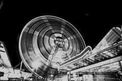 Coney Island-Vergnügungspark-Fahrt Stockbild