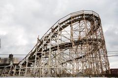 Coney Island-Wirbelsturm Stockfotos
