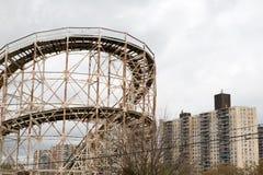 Coney Island-Wirbelsturm Stockfotografie