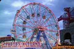 Coney Island Wonder Wheel Stock Images
