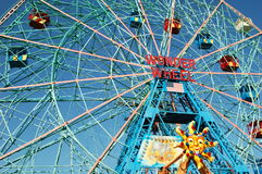 Coney Island Wonder Wheel Royalty Free Stock Photo