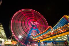 Coney Island-Wunder-Rad Stockfotos