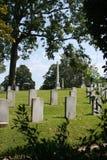 Confédéré de cimetière d'Oakwood mort de Gettysburg images libres de droits