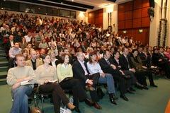 Conférence Photo stock