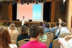 Conférence d'affaires Images libres de droits