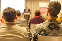 Conférence d'affaires Photographie stock