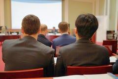 Conférence d'affaires Photo libre de droits