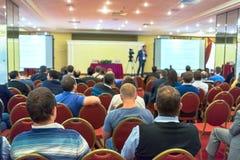 Conférence d'affaires Images stock