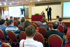 Conférence d'affaires Photos stock