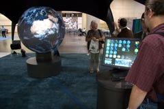 Conférence d'utilisateur d'ESRI pour l'industrie de GIS Photographie stock