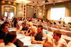 Conférence de enseignement, Thaïlande. Photographie stock libre de droits