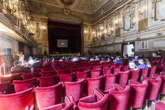 Conférence de plan d'étude de NAPOLI de TED X Photo stock