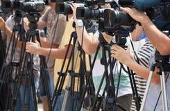 Conférence de presse photo libre de droits