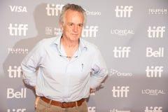 Conférence de presse de John Collee pour le festival de film international de Mumbai Toronto d'hôtel images stock