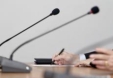 Conférence de réunion d'affaires Photographie stock libre de droits