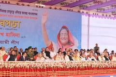 Conférence nationale de ligue du Bangladesh Awami Photo stock